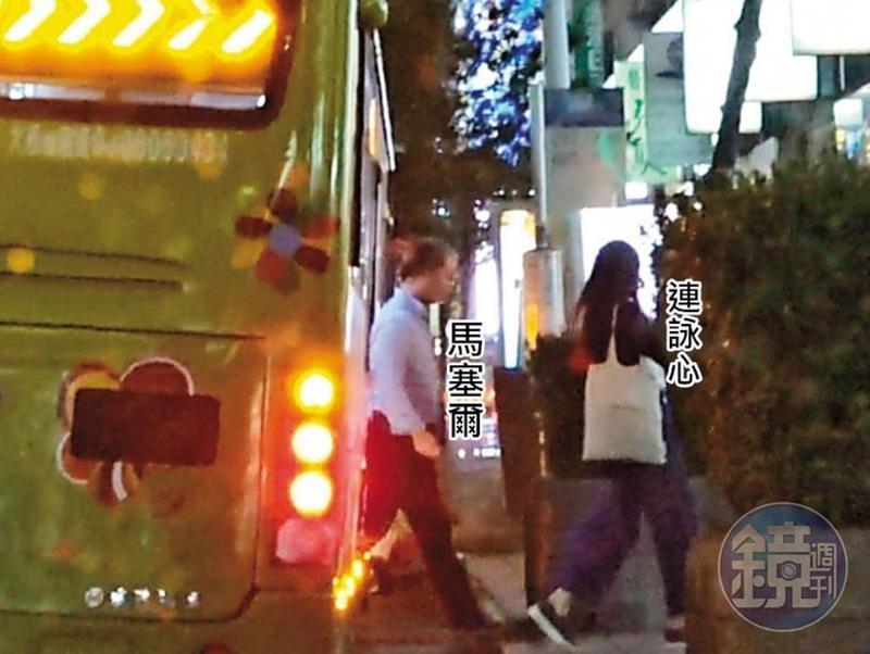 10月26日22:26,公車、捷運、小黃都是連詠心與馬塞爾經常使用的交通工具。