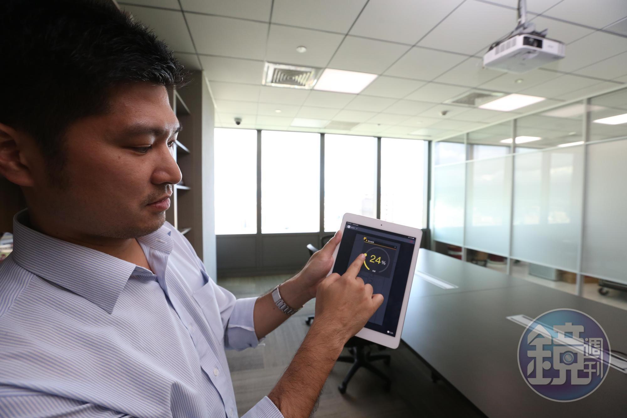 由藍天電腦與宏匯集團組成的投標團隊,日前宣布參與台北雙子星標案,6日特別舉辦群光智慧綠能大樓導覽會。