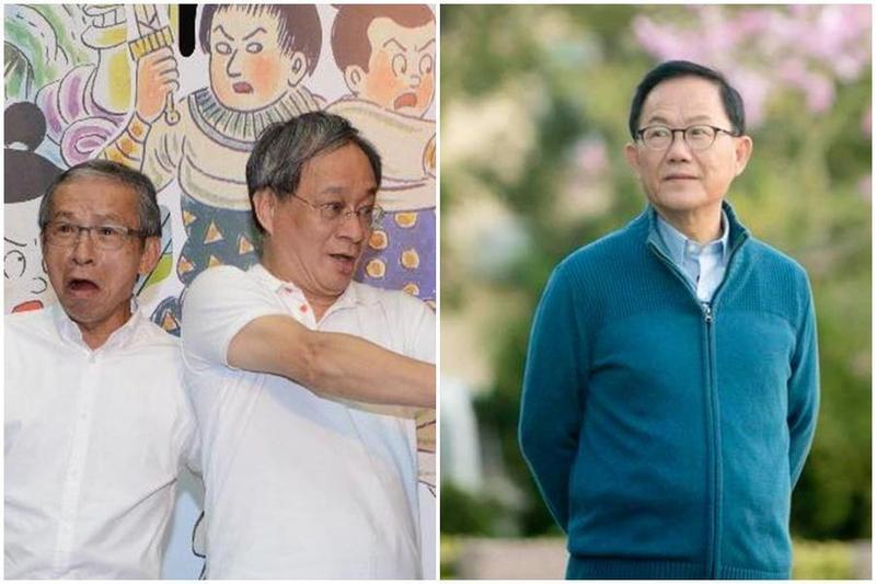 小野近日拍攝影片表態支持民進黨高雄市長候選人陳其邁,引發各陣營在臉書互攻。(左圖翻攝自小野臉書,右圖翻攝丁守中臉書)