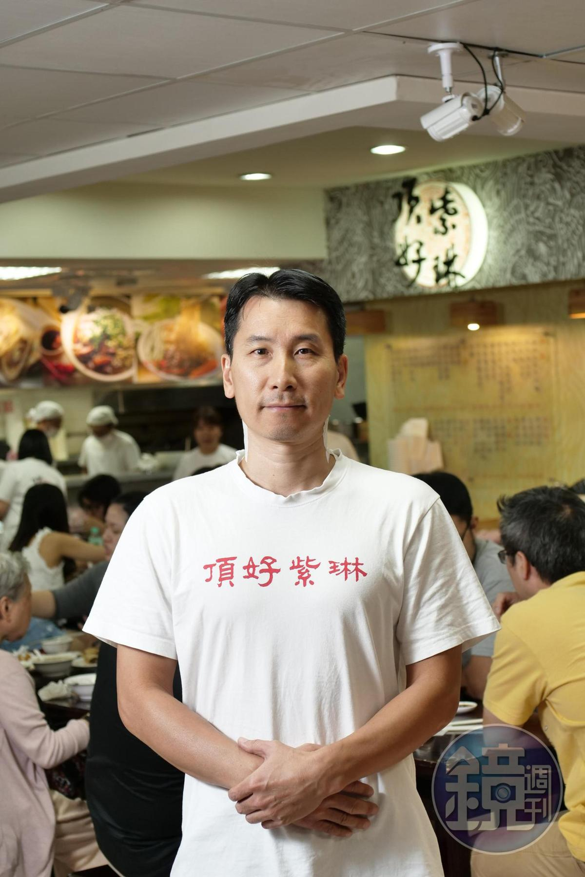 老闆陳學富接手經營山東老師傅的蒸餃館,做得更加有聲有色。