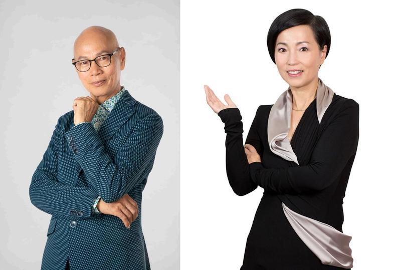 羅家英(左)和苑瓊丹(右)將來台參加金馬獎。(金馬執委會提供)
