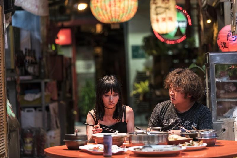 電影《小美》中有許多台灣獨特的風景。(甲上提供)