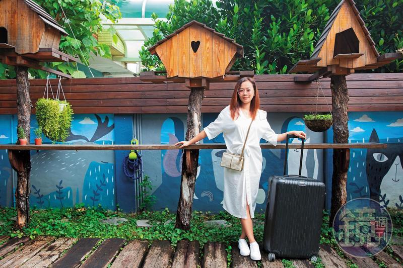 潔媽44歲辭掉工作,隔年瀟灑從台中出發旅遊,圓夢不等退休後。