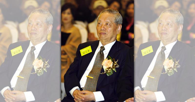 焦廷標昨(7日)過世,享壽95歲。(東方IC)