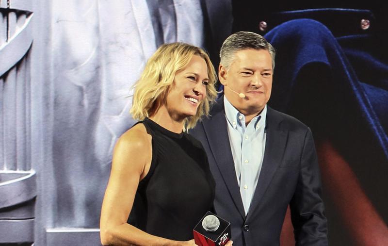 羅蘋萊特在《紙牌屋》第6季「上位」成了女總統,但沒想到她一開始竟然拒絕演出克萊兒一角。(Netflix提供)