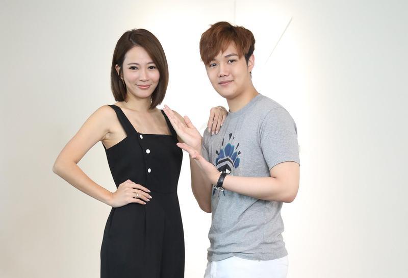 高宇蓁和蘇友謙兩人因為合作麥克風事業而一拍即合變成好友。(友恆國際提供)