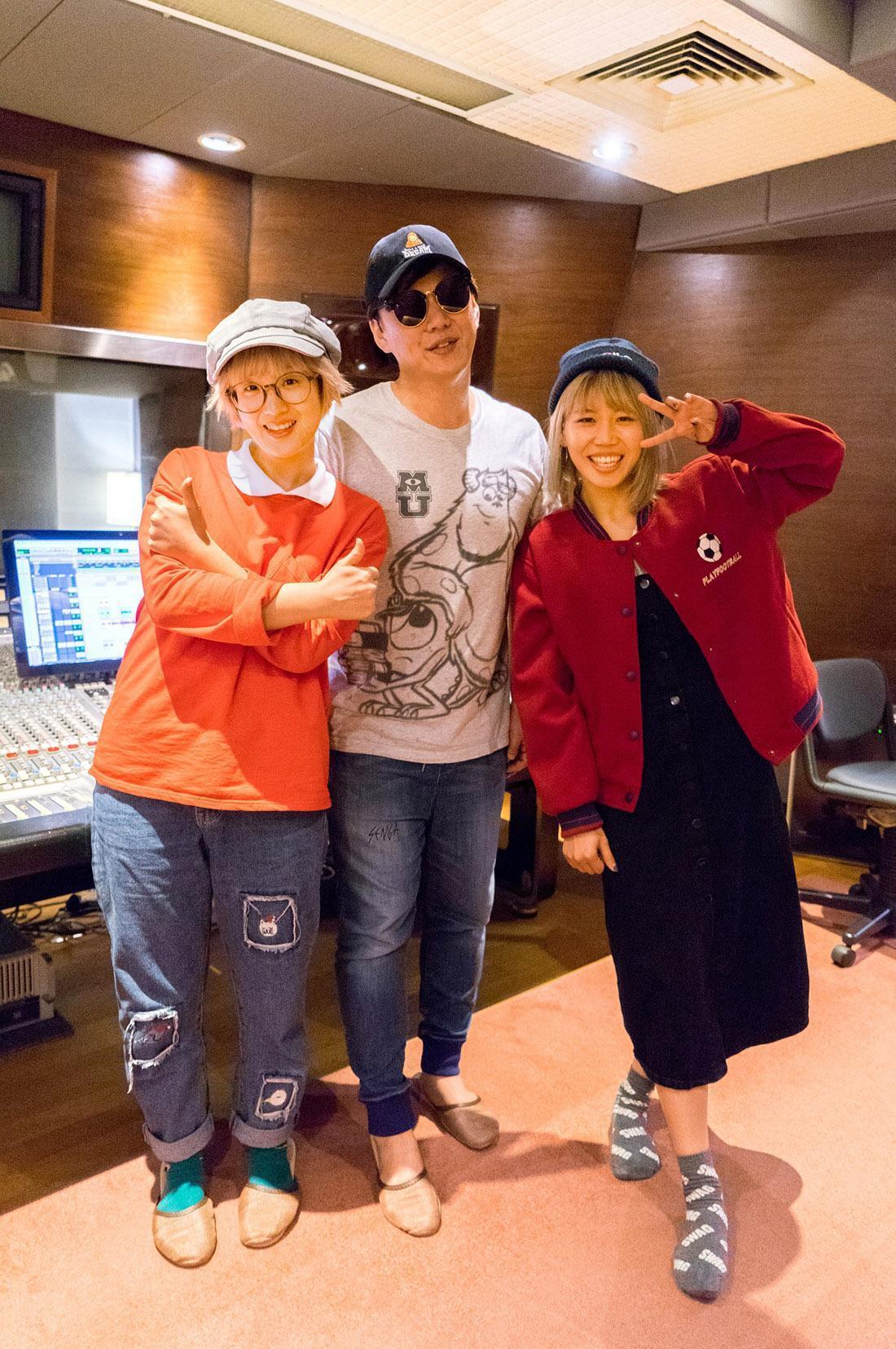 雙人女團有感覺找來金曲歌王蕭煌奇擔任專輯製作人,預計年底推出第二張專輯。(寬宏提供)