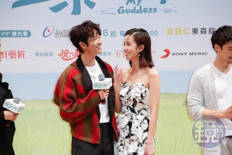 陳庭妮與劉以豪拍《種菜女神》雖然辛苦,但都深深愛上花蓮。