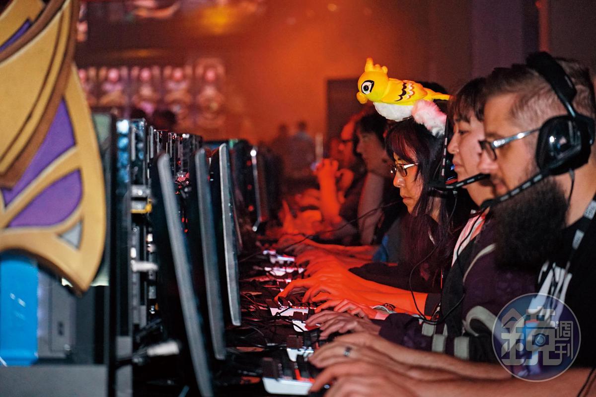 每款遊戲都設有試玩區,讓玩家可以體驗今年度最新發表的作品。