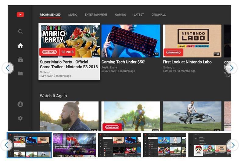 YouTube App正式登入Switch平台。