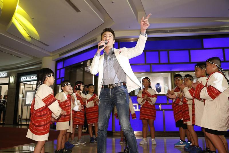 陶喆受微風慈善基金會之邀,擔任「2018 Make A Wish」聖誕點燈晚會圓夢大使。(偉大文化提供)