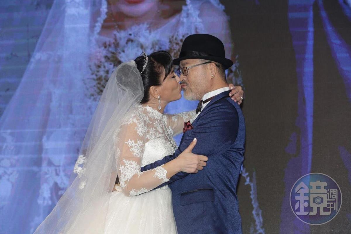 班鐡翔夫妻為了今天的婚禮瘦身成功。