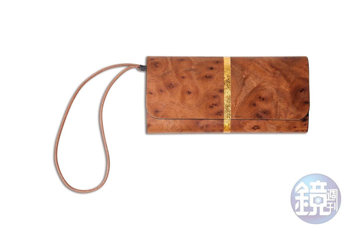 PARSEC樹革長夾。品牌贈送