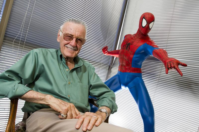 漫威之父史丹李驚傳週一(11月12日)在洛杉磯逝世,享耆壽95歲。(東方IC)