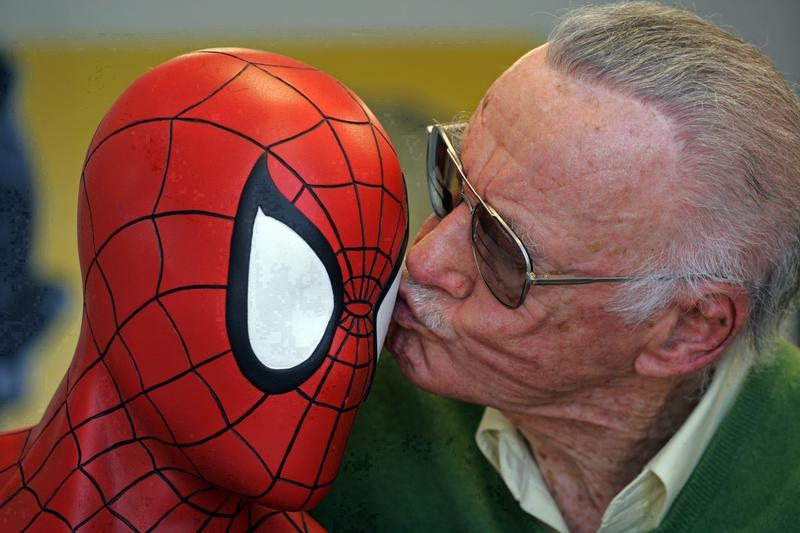 漫威之父史丹李多次客串漫威電影,和超級英雄們互動。(東方IC)