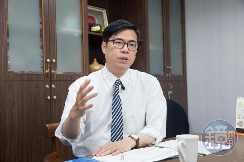 陳其邁深夜po文反擊韓國瑜說法,強調「高雄是母親」,甚至提及過去美麗島事件孕育了台灣民主。