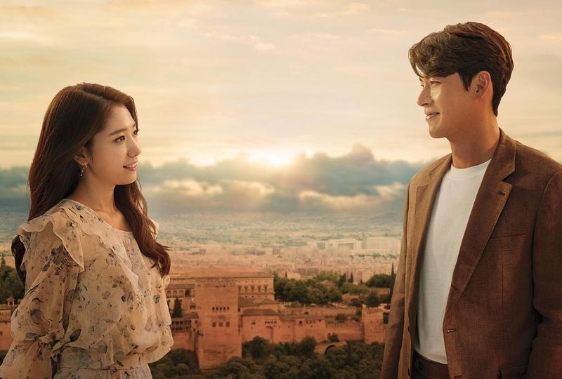 炫彬與朴信惠的新作品《阿爾罕布拉宮的回憶》將於12月1日於Netflix全球同步上線。(Netflix提供)