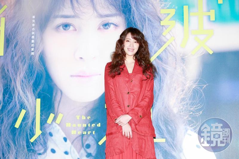 接演電視劇《腦波小姐》女主角的歐陽妮妮,在IG拋出「休學宣言」。