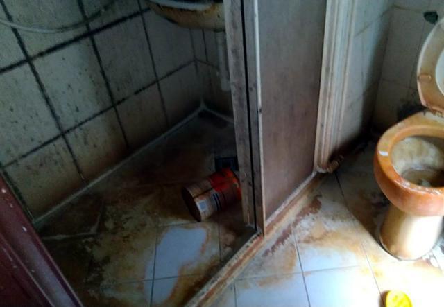 房客將環境搞得一團糟,積欠3個月房租後落跑。(翻攝自爆料公社)
