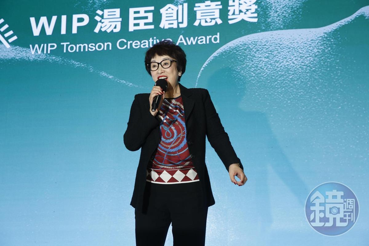 當年的金牌監製徐楓表示將會再度大展拳腳拍電影,她希望能在此找到更多厲害的創作人。