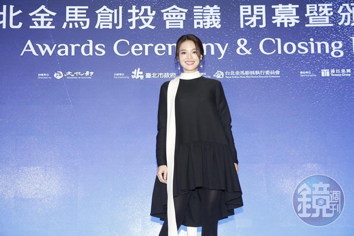 舒淇首次為金馬創投擔任評審,她表示看到好多角色都很想演出。