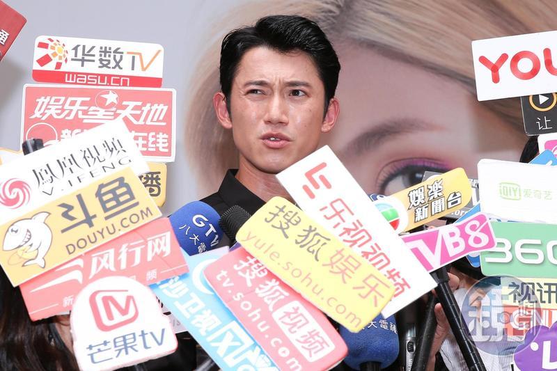 吳慷仁希望能改善陸片配額制度,讓台灣影迷有多一些的機會在大銀幕上看見優秀的作品。