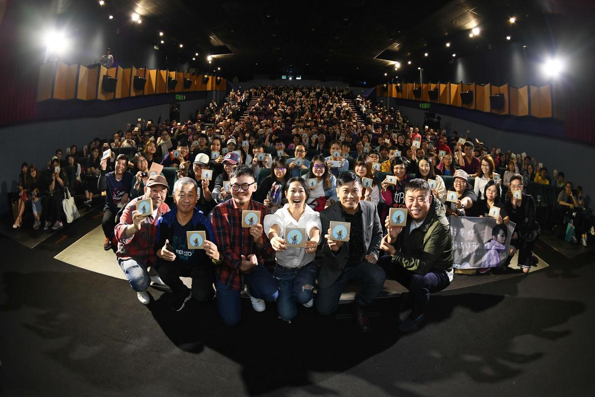 開演前,劉若英貼心地給每位觀眾送上黏豆包。(甲上提供)