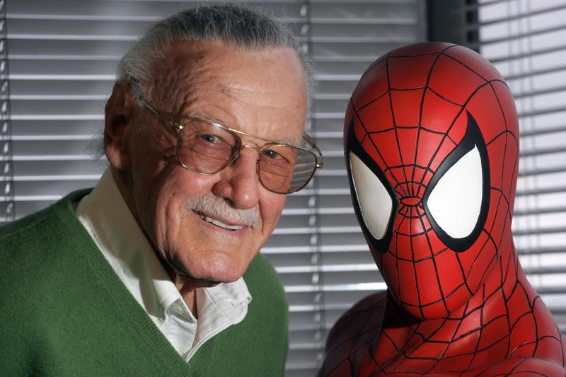 史丹李與漫威漫畫創造的蜘蛛人給英雄漫畫帶來革命性的變化。(東方IC)