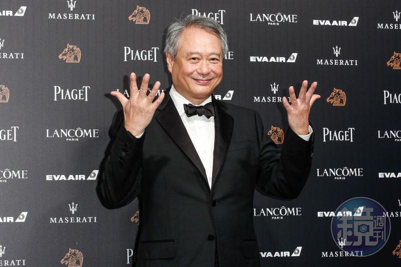 金馬影展主席李安親民開場,更以演員身分參與開場影片演出。