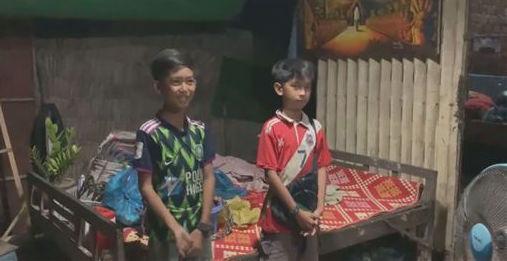 塔信11歲的弟弟杜帝亞(Tol Tithyya)也會11種語言。(翻攝畫面)