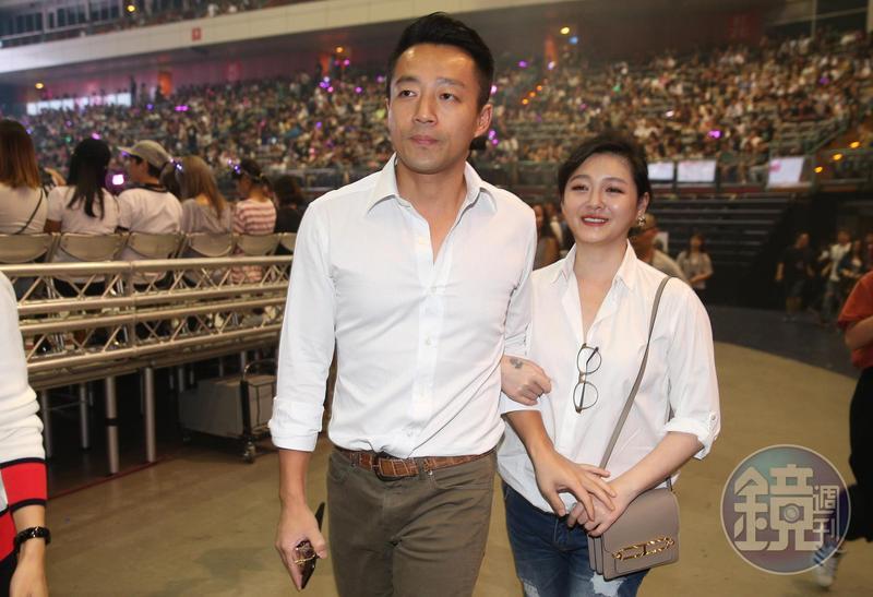 本屆金馬獎沾上政治風波,大S老公汪小菲(左)也在微博發文怒嗆,之後又急刪除。