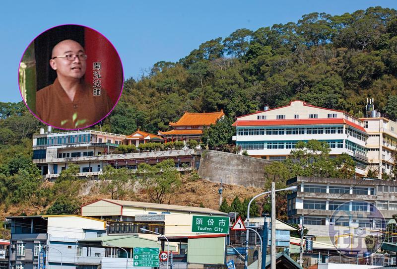 本刊根據線報找到開泓法師,他目前住在相距同善寺十幾公里遠的崇佛寺。