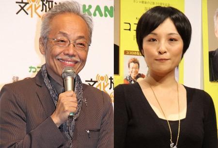 谷村新司(左圖)因為兒子在女廁涉嫌偷拍、二度被逮,變得相當迷信,讓女兒也對他敬而遠之。(翻攝mantan-web.jp網站)