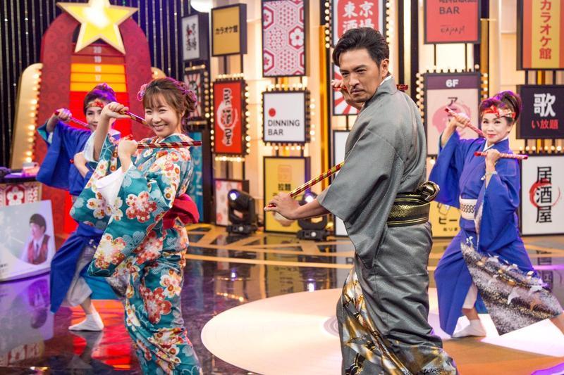 夢多和小百合將主持歌唱節目《國興日本歌唱王》,全程以日文主持。(國興衛視提供)
