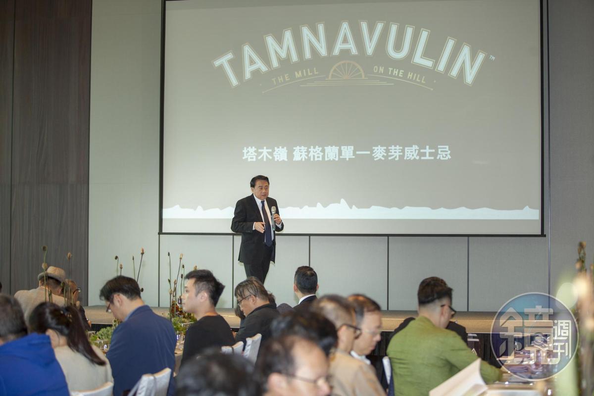有台灣品飲威士忌的堅強實力,「尚格酒業」董事長奚大寧對高年分單一麥芽蘇格蘭威士忌深具信心。(尚格酒業提供)