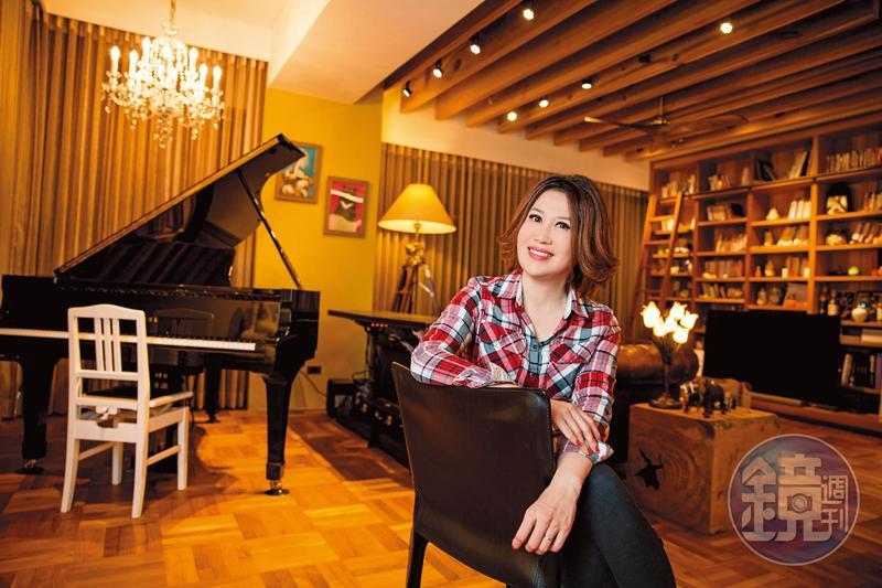 節目主持人陳斐娟鍾情房地產投資,目前擁有4間房,投資獲利超過8位數。
