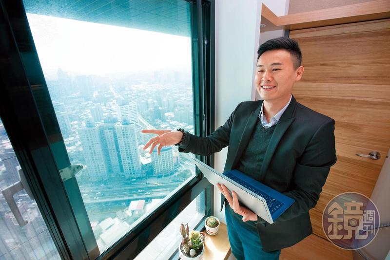 洪榮志擔任過房仲、土開業務、代銷等職務,用投入相關工作的時間換取房產實戰經歷。