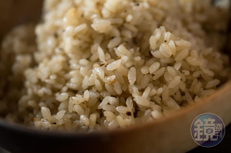 王群翔運用池上米,做出三道美味米飯料理。
