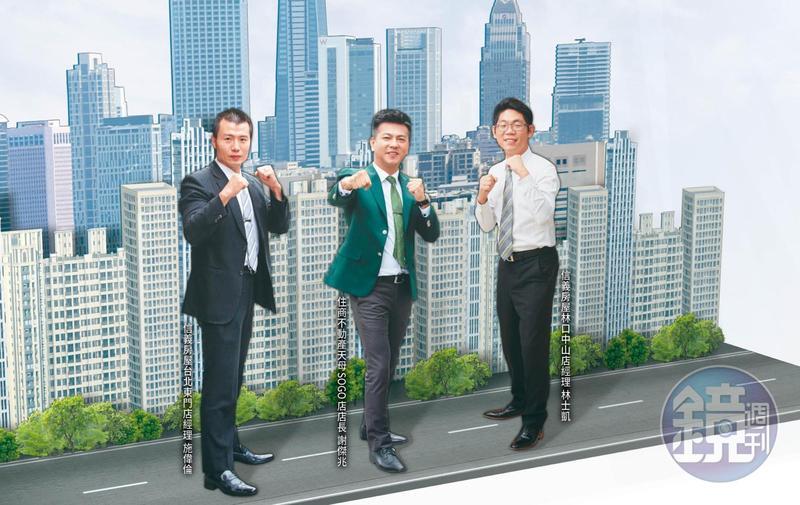 3名仲介經驗豐富的金牌店長,教你如何在精華區、蛋白區和重劃區挑好房。