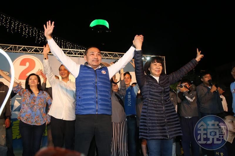 國民黨參選人侯友宜當選下任新北市長。