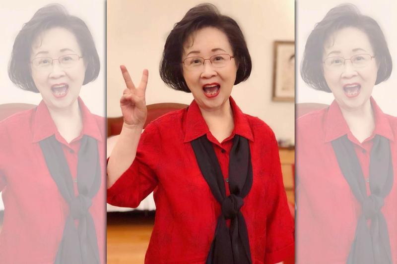 作家瓊瑤對於韓國瑜勝選,相當開心。(翻攝自瓊瑤臉書)