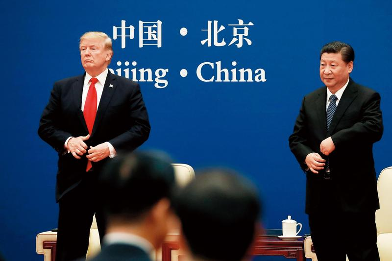 中美貿易戰,雙方都曉得這是一場持久戰,兩造都沒有讓對方一槍斃命的能量。(達志影像)