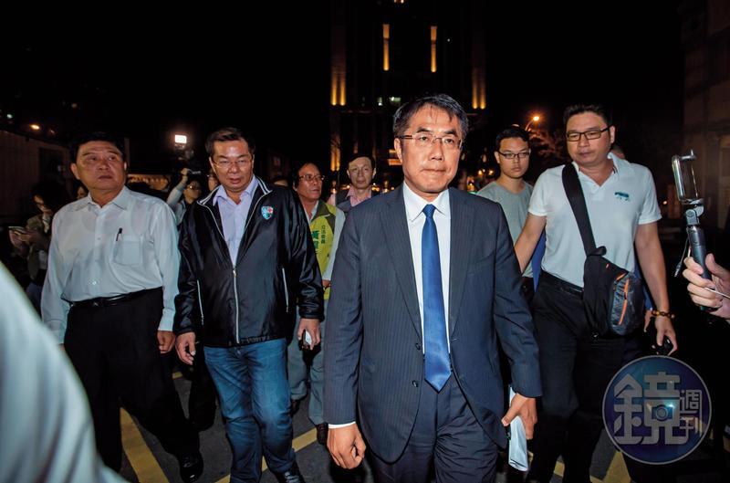 黃偉哲雖勝選,但在台南拿的票數卻只有賴清德當年的一半。