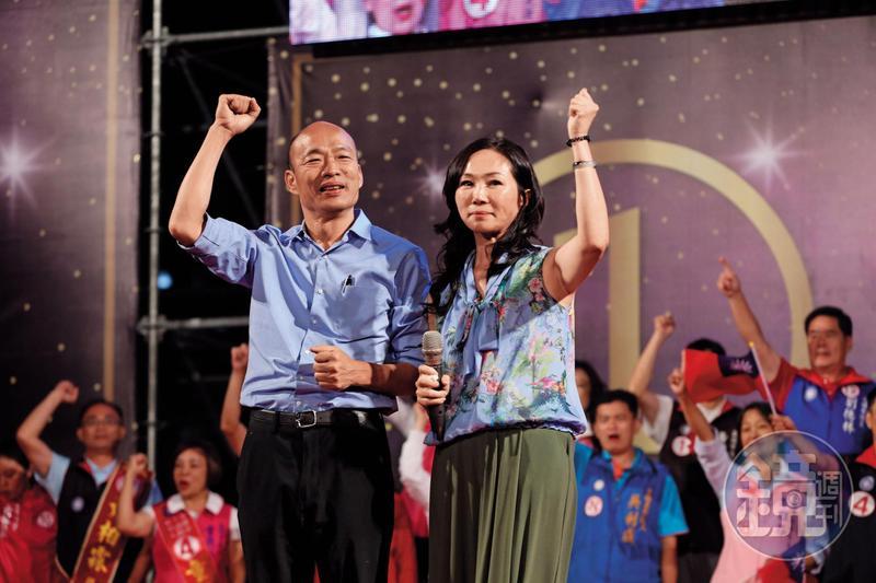 韓國瑜打贏高雄選戰,儼然已成藍營新共主。