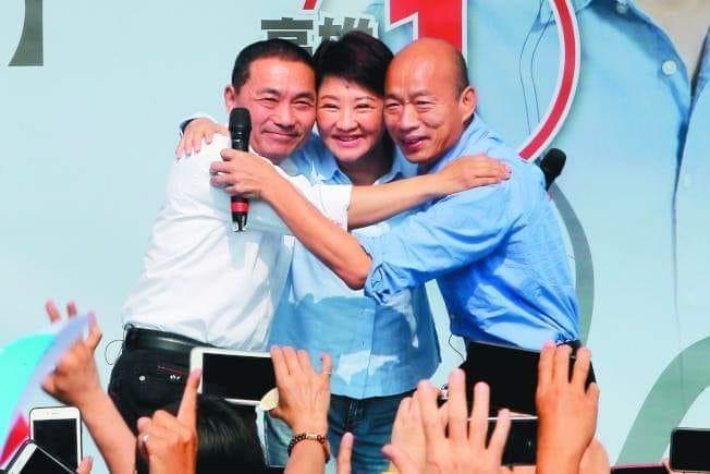 台中市新科市長盧秀燕大贏快20萬票。(盧秀燕臉書)