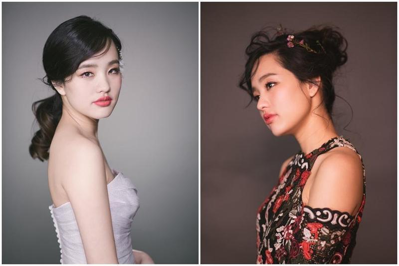 韓冰兼任模特兒時拍下多張美照,都極具特色。(翻攝JAGER international management)