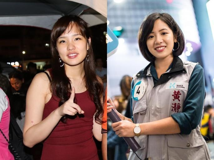製作人詹仁雄想找韓冰(左)和學姐黃瀞瑩開節目。