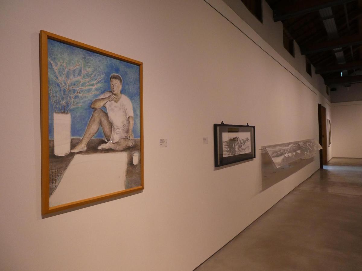 台東池上穀倉藝術館正舉辦「蔣勳私藏展」,展期至明年2月底。(台灣好基金會提供)