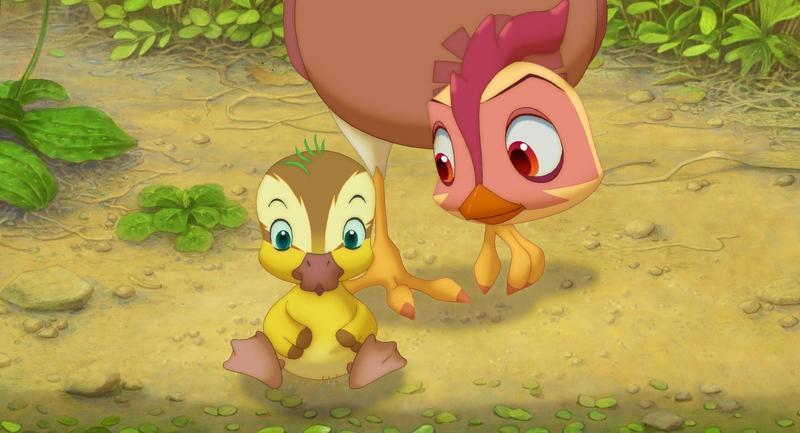 《雞媽鴨仔》獲錫切斯影展最佳動畫片,至今仍是韓國本土動畫票房紀錄保持者。(翻攝自Daum網站)