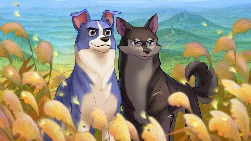吳承允、李春白藉著主角萌吉(左)與伴侶尋得烏托邦世界,期許每個人都擁有幸福生活。(高雄電影節提供)